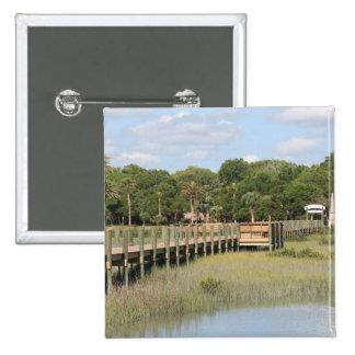 Ponce de Leon park in Florida dock Button