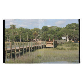 Ponce de Leon park in Florida dock iPad Cases