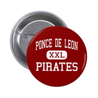 Ponce De Leon - Pirates - Senior - Ponce De Leon Pinback Buttons