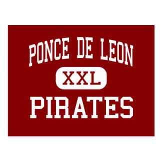 Ponce De Leon - Pirates - Senior - Ponce De Leon Postcard