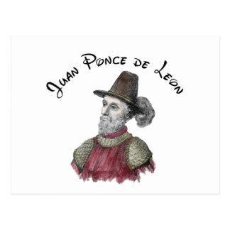 Ponce de Leon postcard