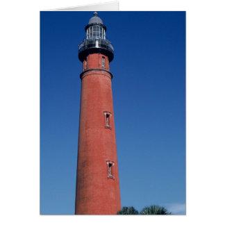 Ponce de Loen Lighthouse Greeting Card