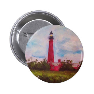Ponce Inlet Lighthouse Pinback Button