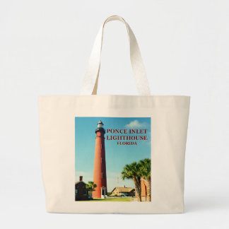 Ponce Inlet Lighthouse, Florida Tote Bag