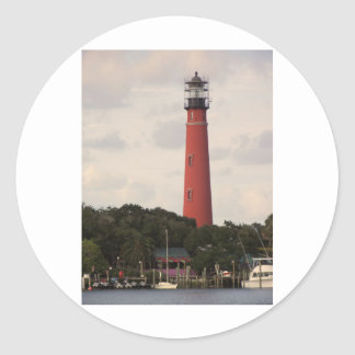 Ponce Inlet Lighthouse Round Sticker