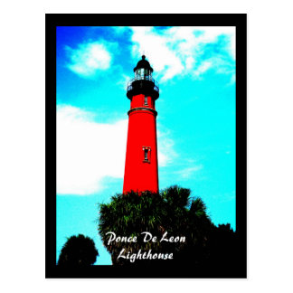 ponceinletlighthouse, Ponce De Leon Lighthouse Postcard