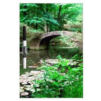 Pond Bridge Dry Erase Board