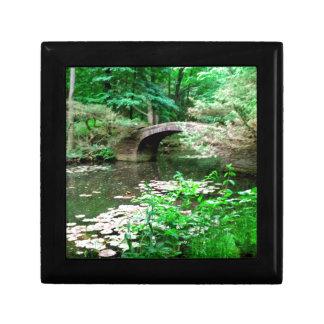 Pond Bridge Keepsake Box