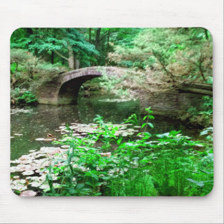 Pond Bridge Mouse Pad
