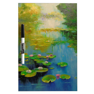 Pond Dry Erase Board