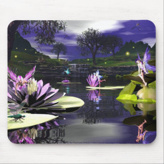 Pond Faerie Mousepad