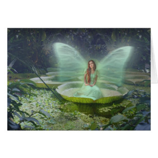 Pond Fairy Card