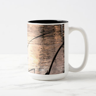 Pond Impressions Two-Tone Coffee Mug