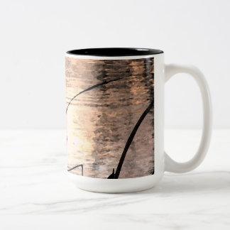 Pond Impressions Two-Tone Coffee Mug