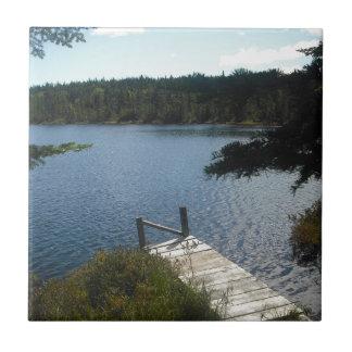 Pond in Maine Ceramic Tiles