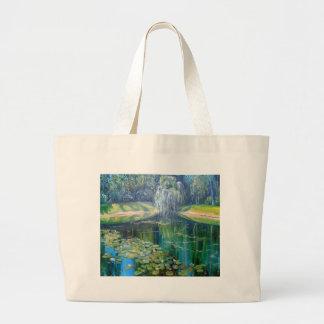 Pond Large Tote Bag