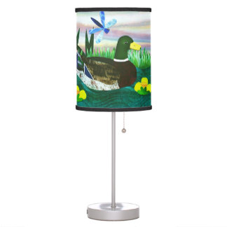 Pond Life Table Lamp