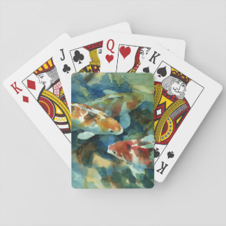 """Pond Light I"" Playing Cards"
