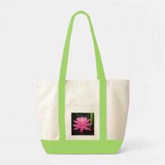 Pond lily totebag