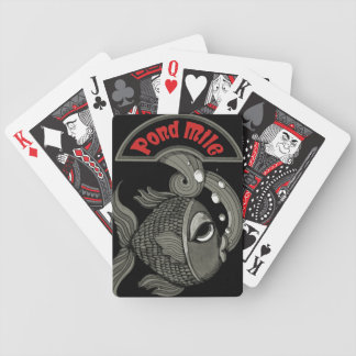 Pond Mile Fish Playing Cards