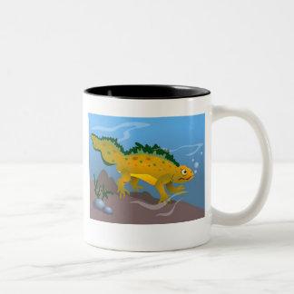 Pond Newt Two-Tone Coffee Mug