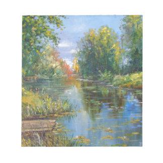 Pond Notepad