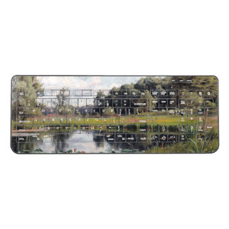 Pond Reeds Cows Wildflower Flowers Keyboard