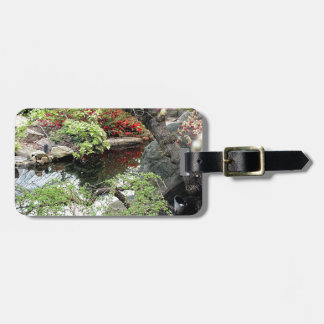 Pond Reflections Luggage Tag
