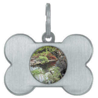 Pond Reflections Pet Name Tags