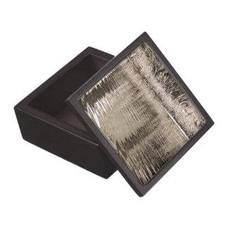 Pond Sepia Photograph Premium Keepsake Boxes