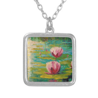 Pond Silver Plated Necklace
