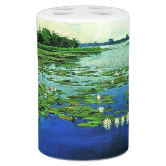 Pond Waterlily Lilypads Water Garden Bath Set