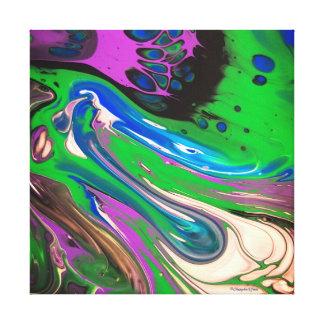 """Ponder Everything"" Custom Art Canvas"