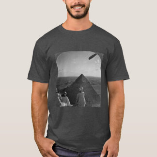pondering the mysteries of pyramids T-Shirt