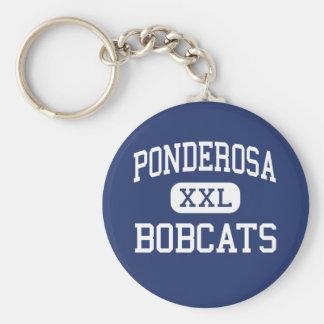 Ponderosa - Bobcats - Junior - Klamath Falls Keychain