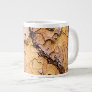 Ponderosa pine bark, Washington Large Coffee Mug