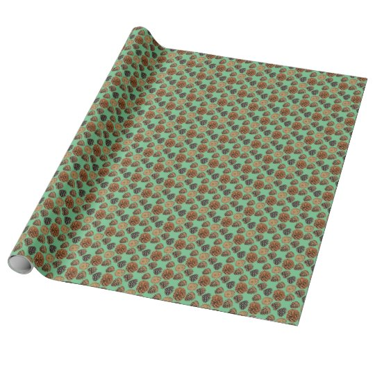 Ponderosa Pine Cone Wrapping Paper 2