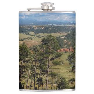 Ponderosa @ Pine Devils Tower Wyoming Flask
