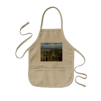 Ponderosa @ Pine Devils Tower Wyoming Kids Apron