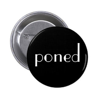 poned 2 inch round button