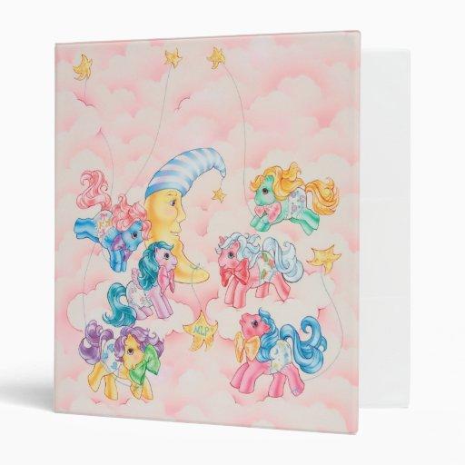 Ponies in the Clouds Binders