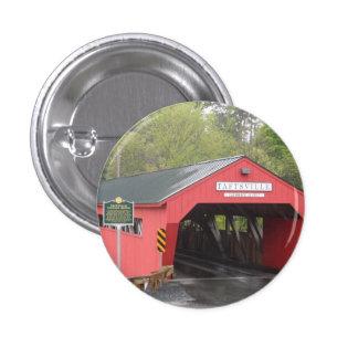 Pont couvert de Taftsville Vermont Badge Avec Épingle