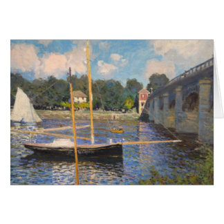 Pont d'Argenteuil Greeting Card