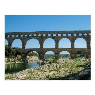 Pont du Gard, France - Postcard
