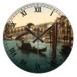 Pont I, Venise, Italie de Rialto Horloge Murale