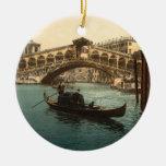 Pont I, Venise, Italie de Rialto Décorations Pour Sapins De Noël