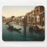 Pont I, Venise, Italie de Rialto Tapis De Souris