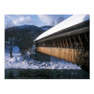 Pont moyen Woodstock en hiver Carte Postale