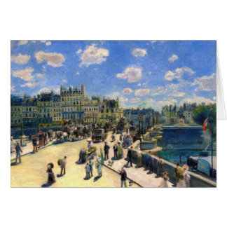 Pont Neuf, Paris Card