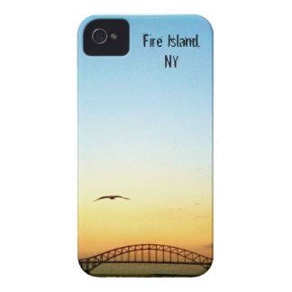 Pont pour mettre le feu à l'île étui iPhone 4